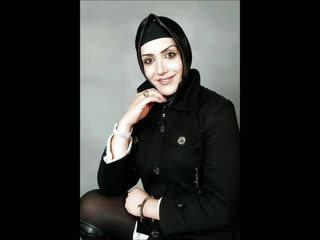 Turkish-arabic-asian hijapp sekoittaa photo 11