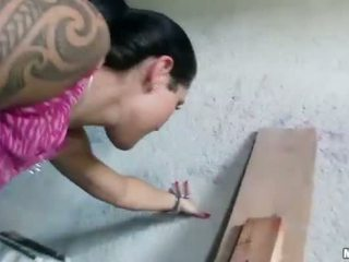 Czech girl Agata pounded for some money