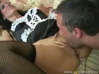 This Maid Moans So Good!