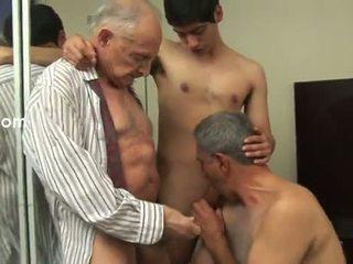 homosexuál, starý, anální