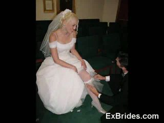 Real Slutty Brides!