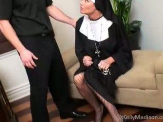 Kelly madison покарана з a thick пеніс в манда
