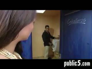 toilet, amateur, handjob