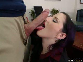 זין גדול, סקס במשרד, זיון