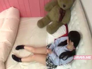 Schattig geil koreaans meisje having seks