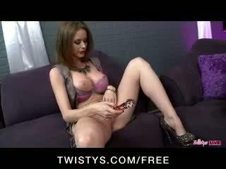 Twistys حي عرض مع tori أسود, jessie rogers & emily addison