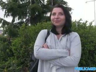 Publicagent Hot Babe Sucks And Fucks F...