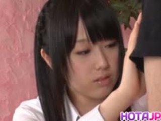 Machiko ono gets emzikli sonra ince bisiklet