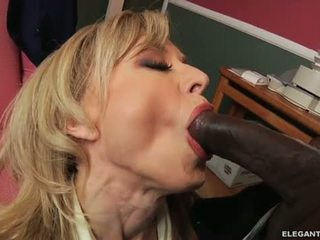 Interracial Anal With Milf Nina Hartley