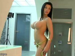 kedi traş, büyük memeler, porno