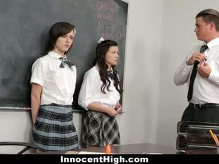 תלמידה, מכללה, groupsex