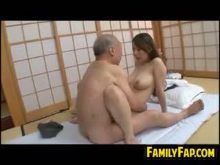 japanilainen, vanha + young, fetissi