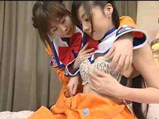 Japan lezbiýanka teens video