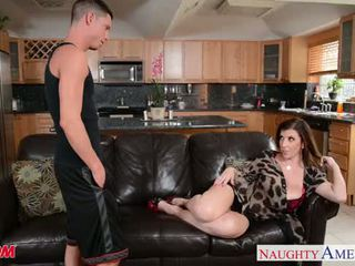 Sexy mama sara jay gets fucked a facialized