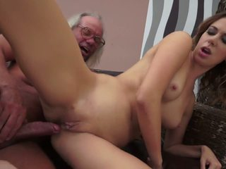 Sexy Twat Helps out Old Ugly Gardener, HD Porn 93