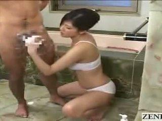 ejaculação, asiático