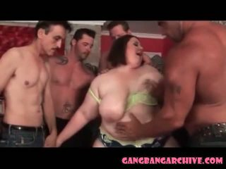 Gangbang Archive BBW MILF Needs Lots of Fucking too.