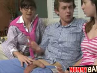 blowjob, old+young, threesome
