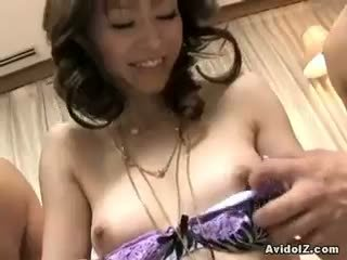 best brunette see, best blowjob, hottest threesome