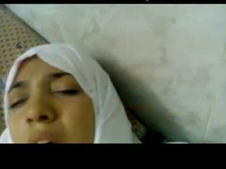 Wonderful মিশরীয় arabic hijab বালিকা হার্ডকোর মধ্যে হাসপাতাল -