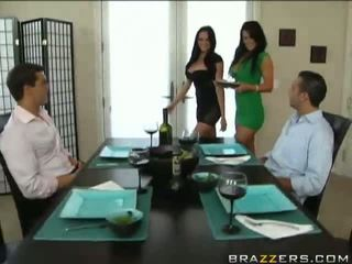 Hot Foursome With Audrey Bitoni And Savannah Stern Video