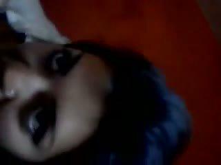 Indisk hustru avsugning video-